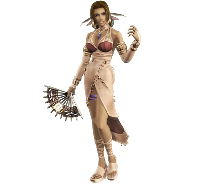 Lucia in Shadow Hearts