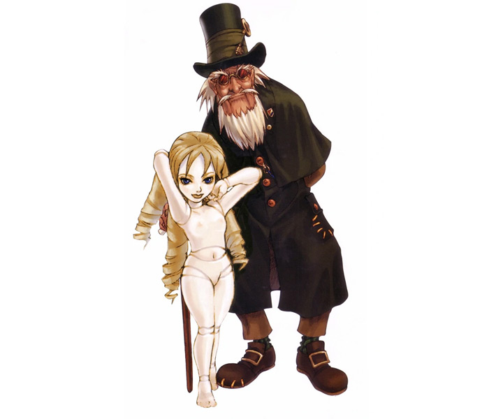 Gepetto the Puppeteer from Shadow Hearts