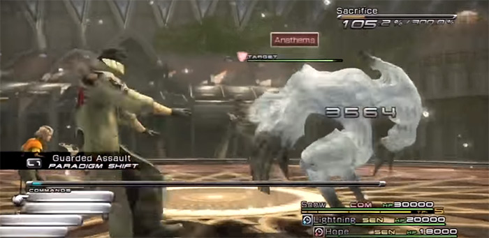 FF13 Paladin weapon for Snow