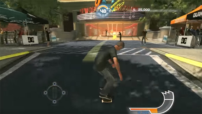 Tony Hawk Shred gameplay