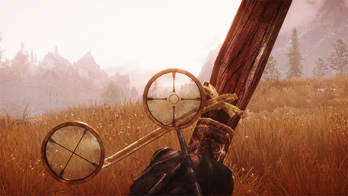 Scoped Bows mod