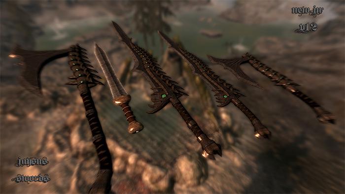 JaySus Swords mod