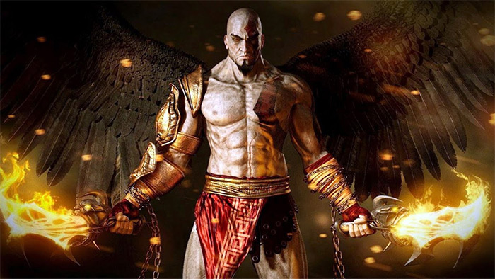 GoW 3 gameplay