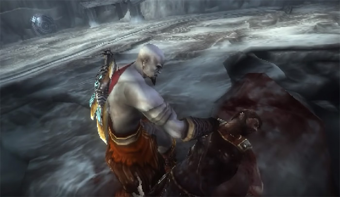 GoW Ghost of Sparta gameplay