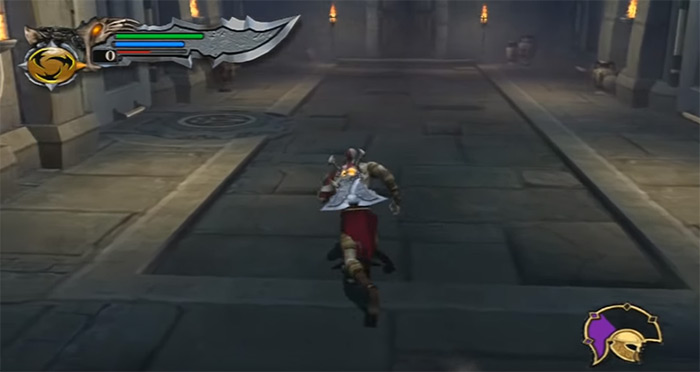 Original GoW gameplay