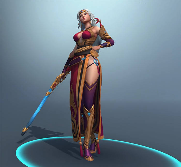 Lian in Paladins