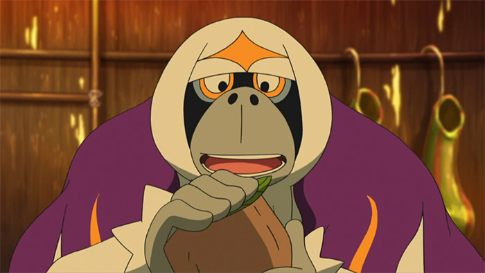 Oranguru weird Pokemon