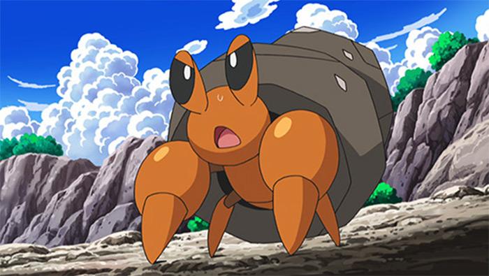 Dwebble in Pokemon