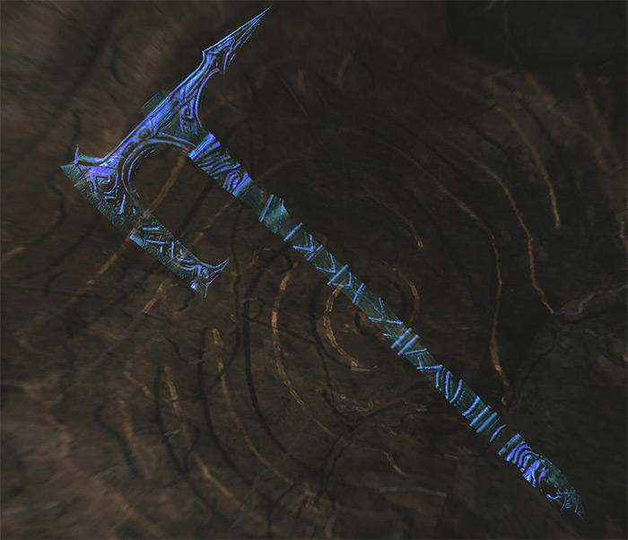 Drainblood Battle Axe Skyrim