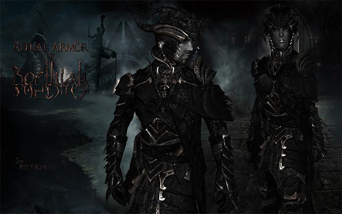 Ritual Armor of Boethiah mod