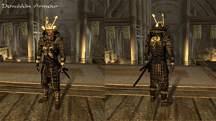 Blades Samurai Armor and Kimonos mod