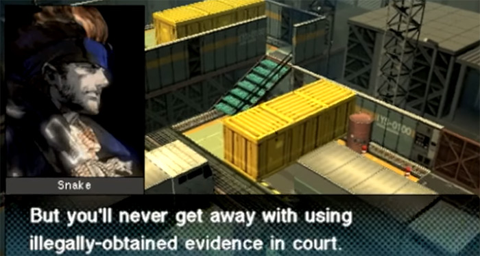 Metal Gear Acid 2 screenshot