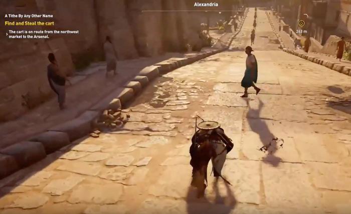 AC Origins gameplay