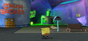 SpongeBob Chum Bucket PS2 gameplay