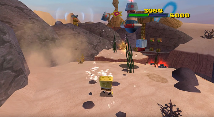 SpongeBob SquarePants Movie, the video game