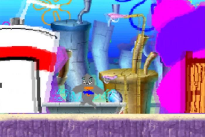 Drawn to Life Spongebob game