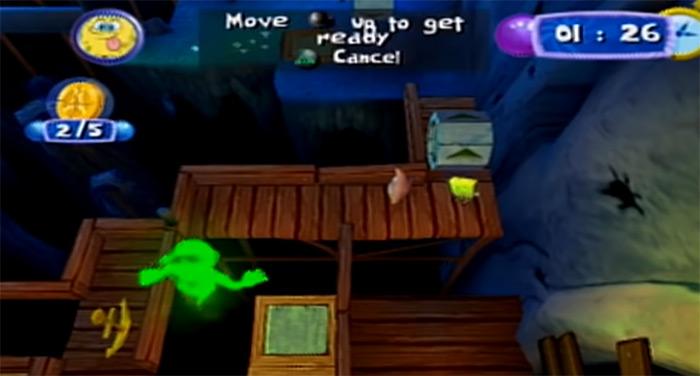 SpongeBob's Atlantis SquarePantis video game