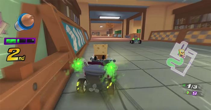 Nickelodeon Kart Racers game