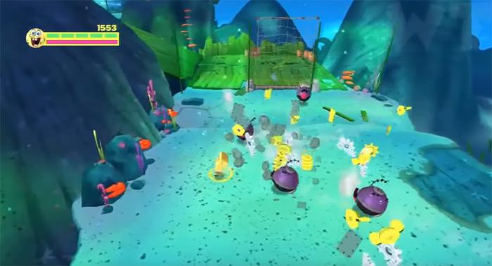 Plankton's Robotic Revenge video game
