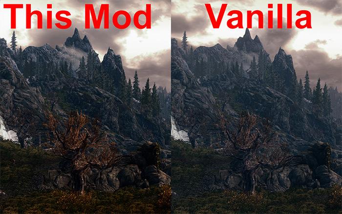Skyrim Revamped Exterior Fog mod