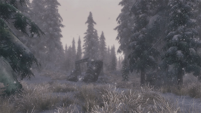 Real Skyrim Snowflakes mod
