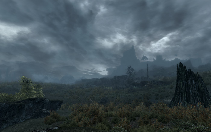 Expanded Skyrim Weather Skyrim mod