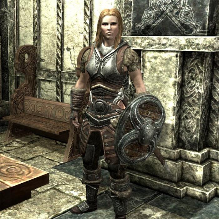 Jordis The Sword-Maiden in Skyrim