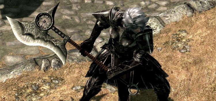 Hammer revamped redesign in Skyrim