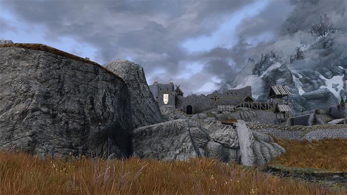 Skyland mod for Skyrim