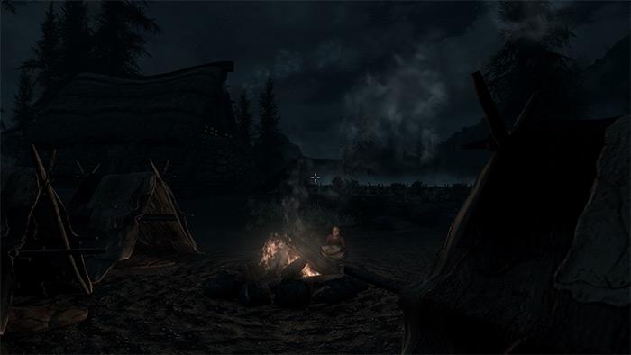 Darker Nights Skyrim mod
