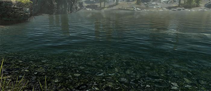 Pure Waters Skyrim mod