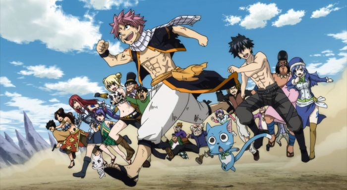 Fairy Tail fantasy anime