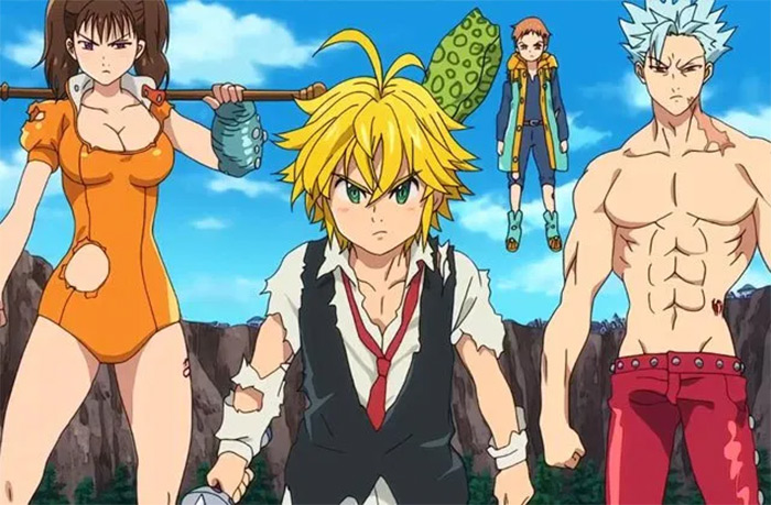 Seven Deadly Sins fantasy anime