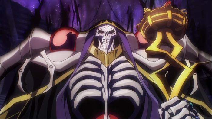 Overlord fantasy anime