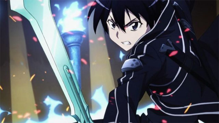 Sword Art Online fantasy anime