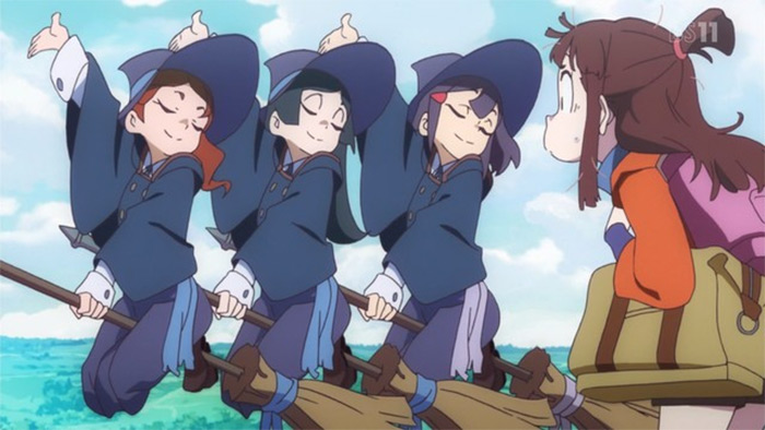 Little Witch Academia fantasy anime