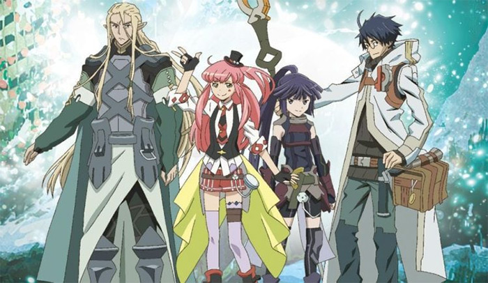 Log Horizon fantasy anime