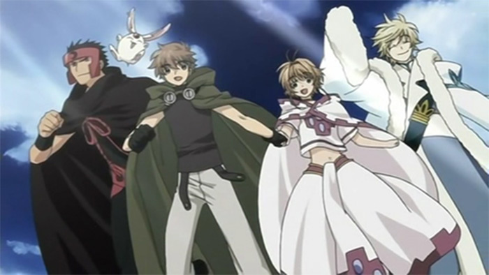 Tsubasa Chronicles fantasy anime