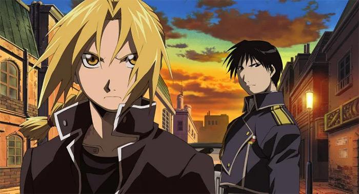 Fullmetal Alchemist fantasy anime