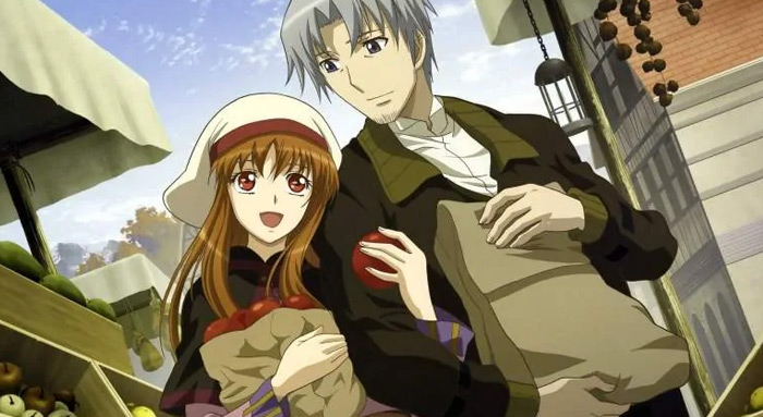 Ookami to Koushinryou fantasy anime