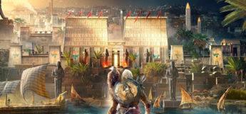Assassins Creed Origins promo artwork