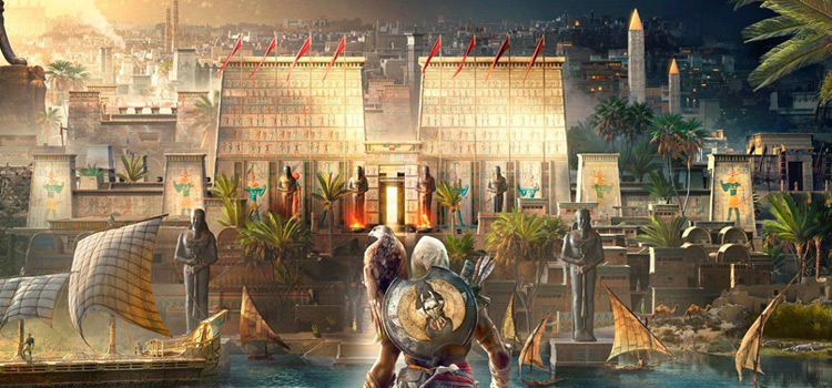 Assassins Creed Origins promo artwork