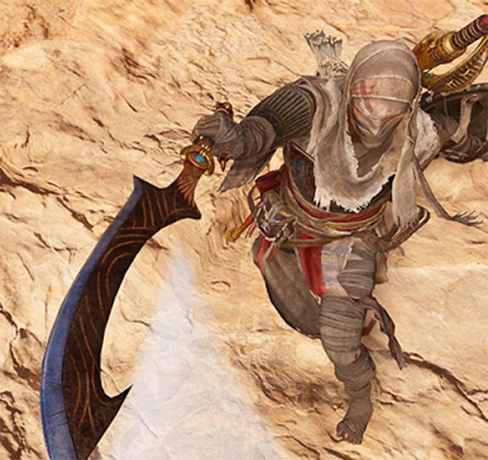 The Living One in AC Origins
