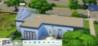 Sims 4 build mode screenshot
