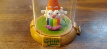 Puking gnome gravity falls toy