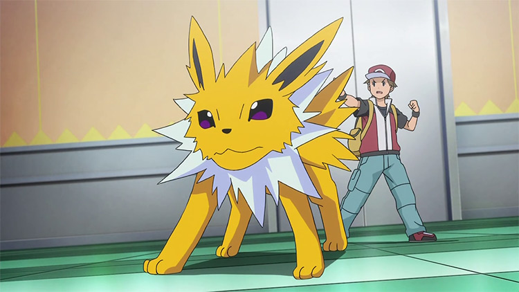 Jolteon, the best electric Pokemon