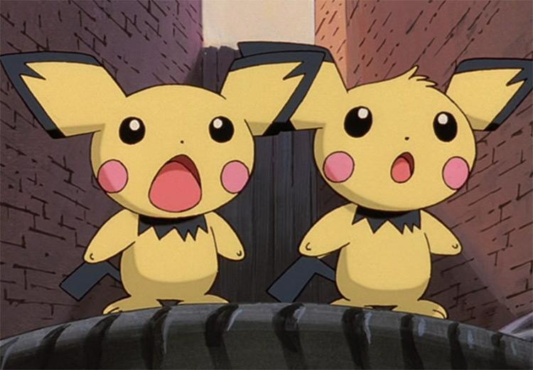 Pichu in Pokemon anime
