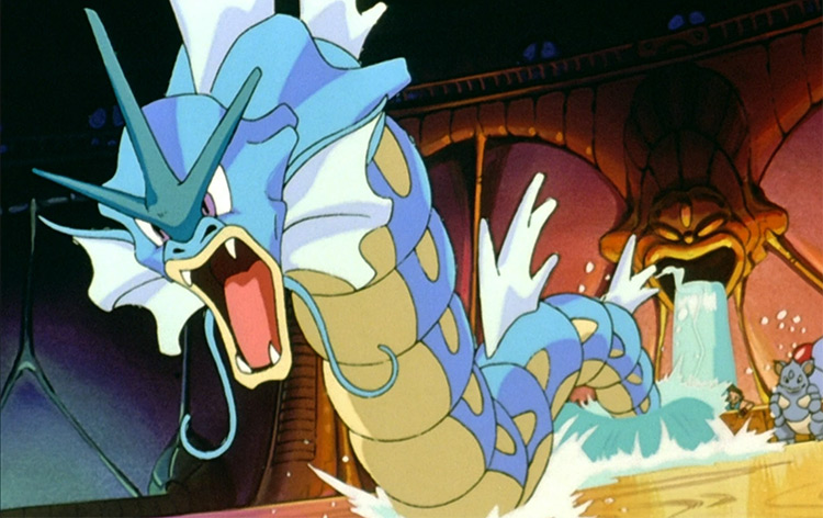 Gyarados in the anime