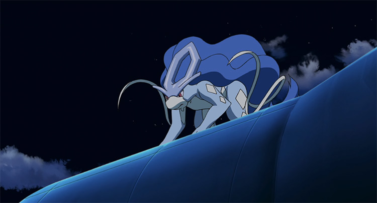 Suicune in Pokemon anime