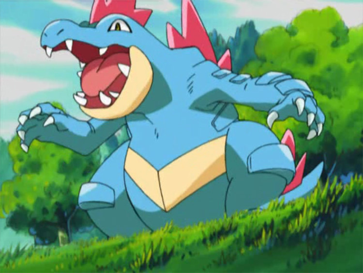 Feraligatr in anime